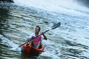 Mauritius Otentic Eco Tent Kayak in the famous Grand River South east