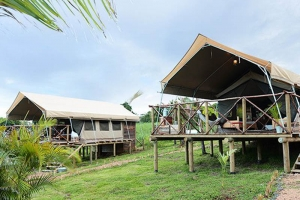 Experience your stay in Mauritius in different way under tents with all comforts